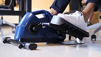 Using under desk elliptical