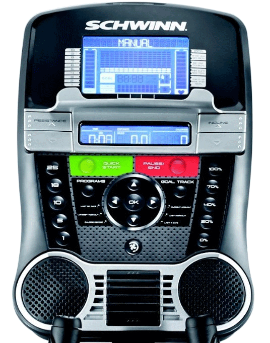 Console of schwinn 470