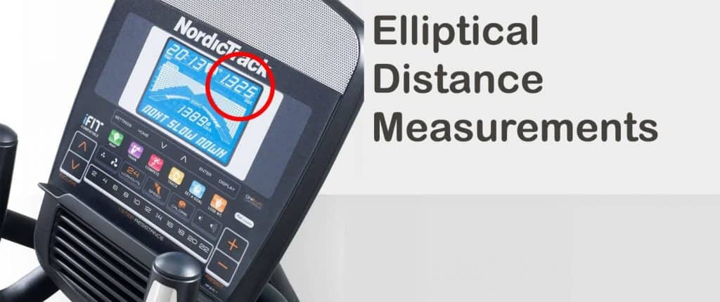 How is the Distance Calculated on an Elliptical
